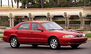 Slide 1 Of 4: 2002 Mazda 626