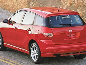 2004 Toyota Matrix Xrs Overview Msn Autos