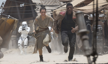 Star Wars: The Force Awakens..L to R: Rey (Daisy Ridley) and Finn (John Boyega)..Ph: David James..?Lucasfilm 2015