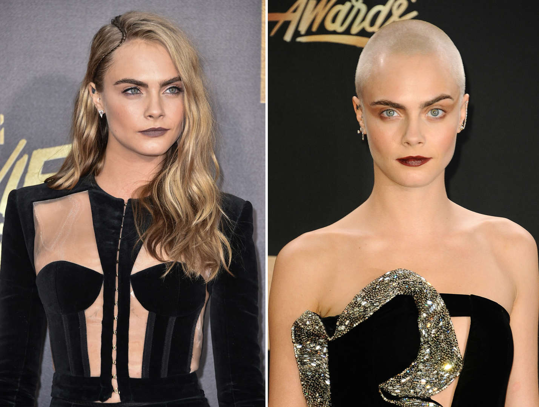 Celebrity Hair Long Vs Short