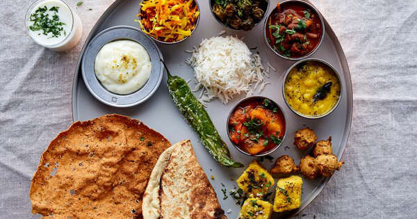 The Over-the-Top, Feast-on-a-Plate Thali (& How to Make it
