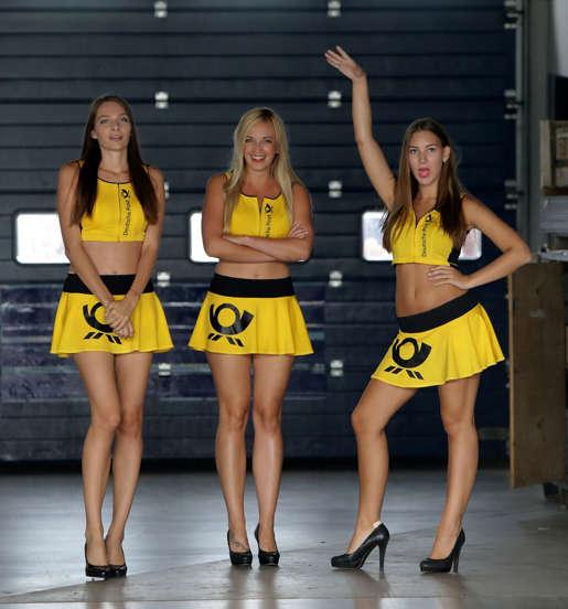 Gorgeous Formula One Grid Girls