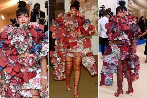 dba32e2f586 Slide 2 of 50  Rihanna at Met Gala 2017