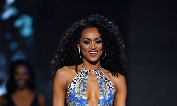 Slide 1 of 51: 2017 Miss USA  – Las Vegas, Nevada, U.S., 14/05/2017 - Miss District of Columbia Kara McCullough.