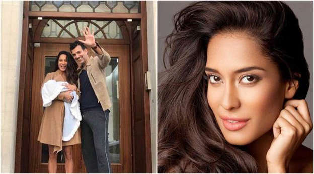 Lisa Haydon blessed with baby boy, names him Zack  Their