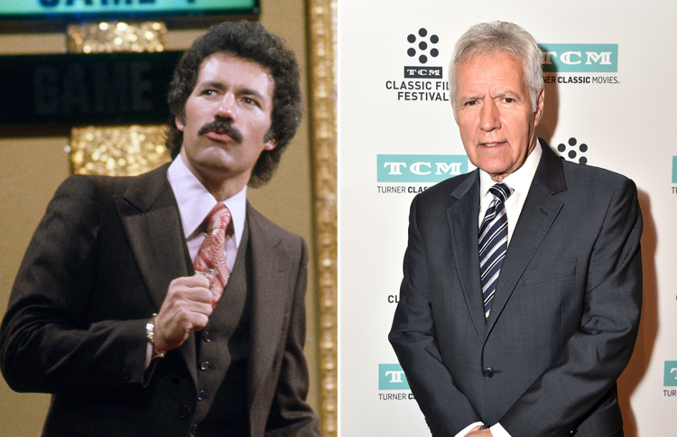 Famous game show hosts: Then and now