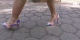 Wear your high heels all day with this simple trick