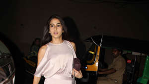 Sara Ali Khan spotted out and about in bandra