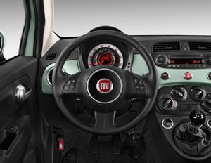 Ongekend 2015 Fiat 500 Lounge Interior Photos - MSN Autos HG-89