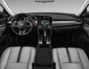 2016 Honda Civic Ex With Honda Sensing Cvt Interior Photos Msn Autos