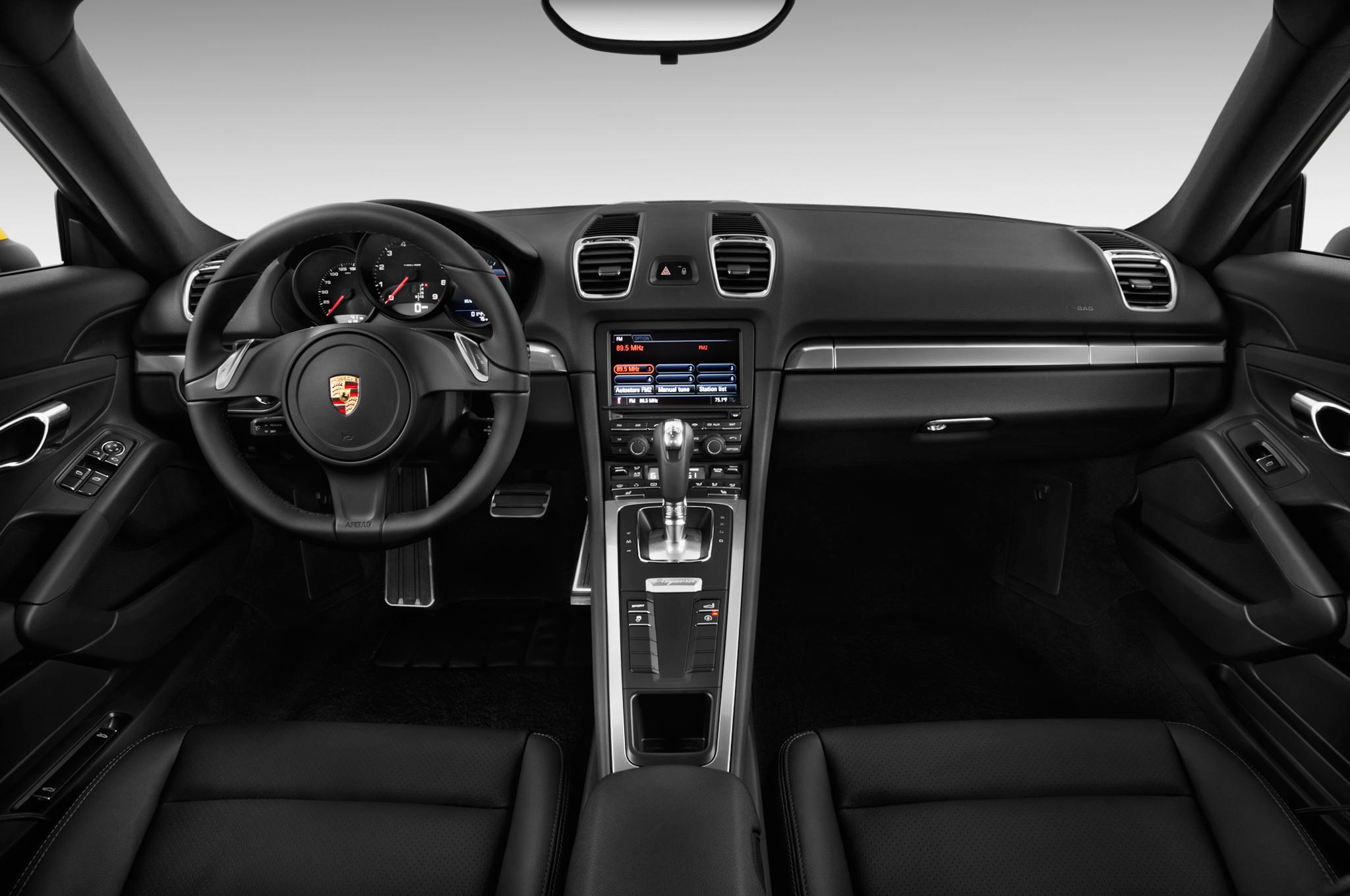 2016 Porsche Cayman Base Interior Photos , MSN Autos