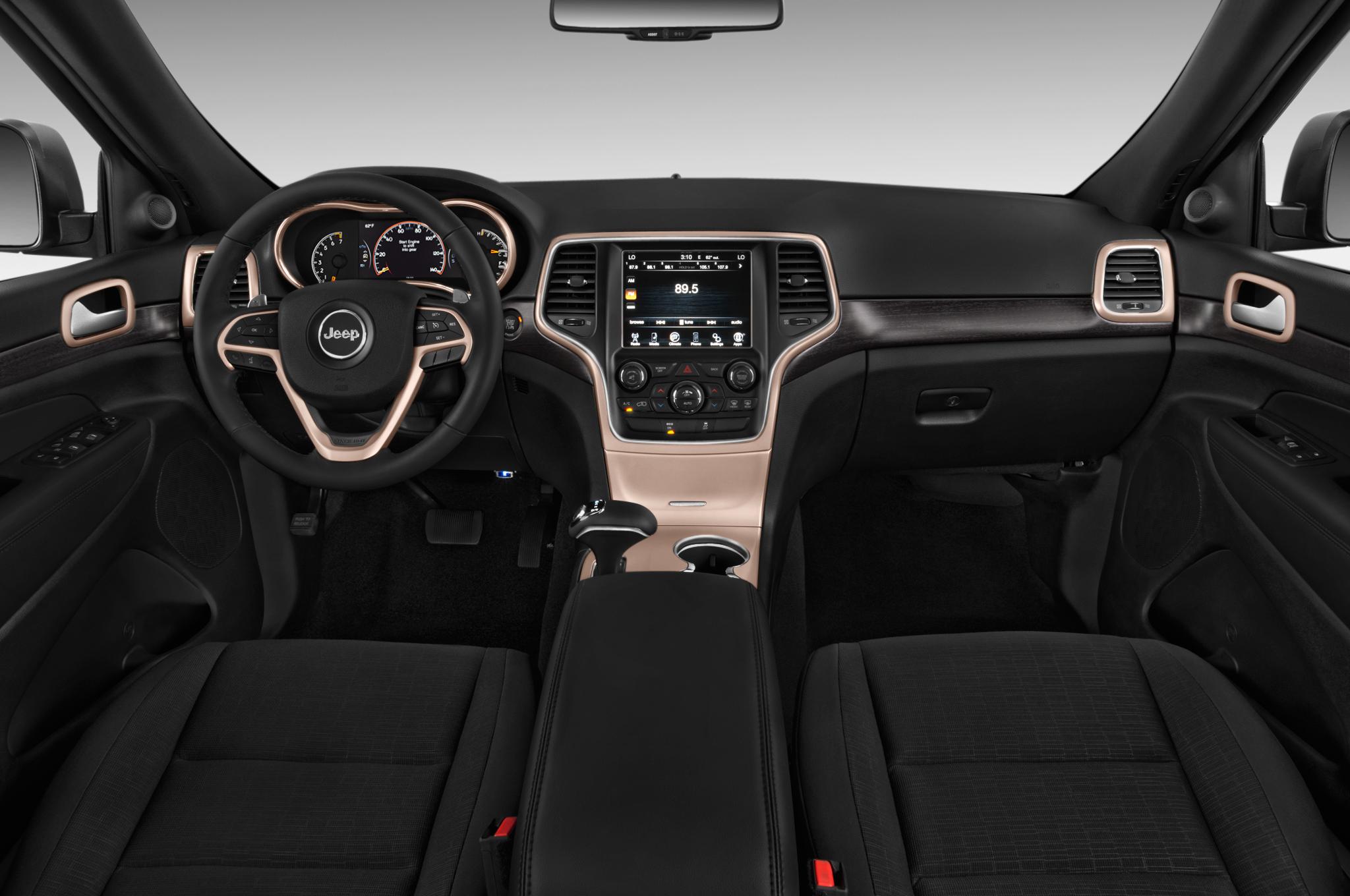 2015 jeep grand cherokee laredo interior