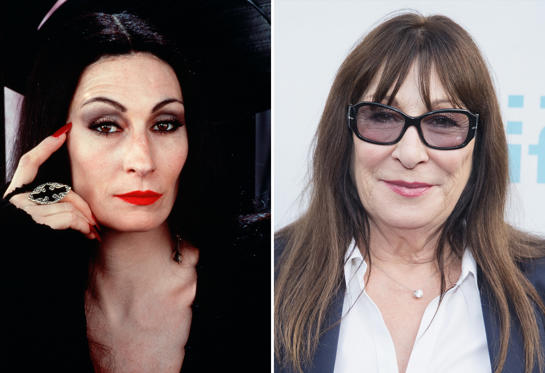Diapositiva 2 de 13: The Addams Family - 1991 Anjelica Huston; Anjelica Huston arrives to receive the Seattle International Film Festival Outstanding Achievement in Acting Award before the world premiere of the film 'Trouble' at Egyptian Theater, Seattle on June 7, 2017 in Seattle, Washington.