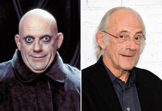 Diapositiva 4 de 13: The Addams Family - 1991 Christopher Lloyd; Christopher Lloyd attends the 'Going in Style' New York premiere at SVA Theatre on March 30, 2017 in New York City.