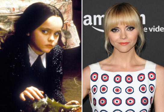 Diapositiva 5 de 13: Film and Television The Addams Family, Christina Ricci; Actress Christina Ricci attends the Emmy FYC screening for Amazon's 'Z: The Beginning Of Everything' at Hollywood Athletic Club on April 27, 2017 in Hollywood, California.