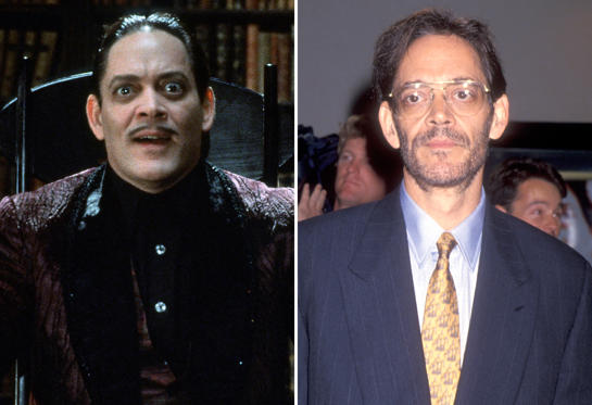 Diapositiva 3 de 13: The Addams Family - 1991 Raul Julia; Actor Raul Julia attends the Screening of the HBO Original Movie 'The Burning Season' on September 12, 1994 at Mann Bruin Theatre in Westwood, California.