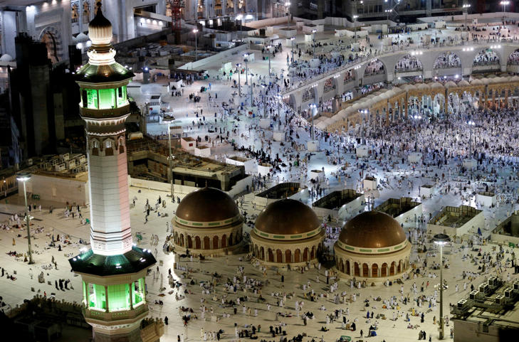 General view of the Grand Mosque in Mecca, Saudi Arabia September 9, 2016.