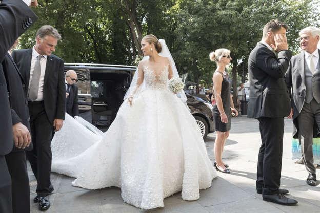 5e83a623d176 Slide 2 of 33  The wedding of Victoria Swarovski and Werner Muerz