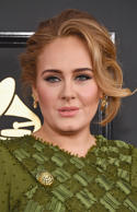 Singer Adele arrives at the 59th GRAMMY Awards at the Staples Center on February 12, 2017 in Los Angeles, California.