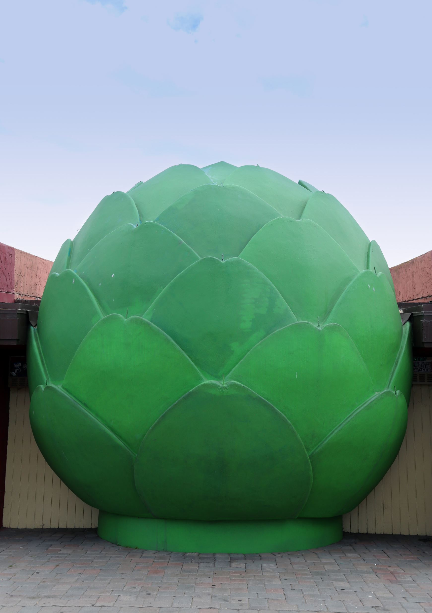Slide 4 of 19: The world's largest artichoke In the town of Castroville, California. Artichoke capital of the world.
