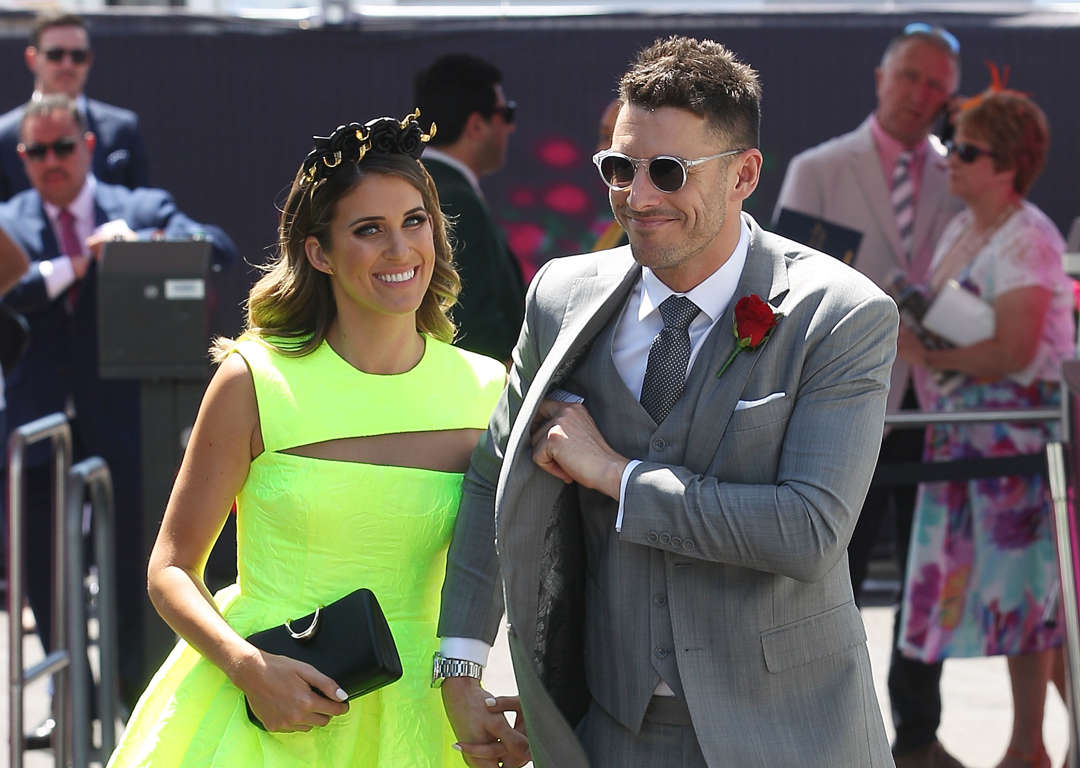 Spring racing fashions on the field