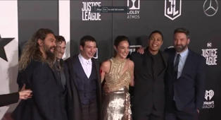 'Justice League' take over Hollywood
