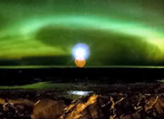 Stunning Timelapse of the Northern Lights in Eastern Quebec