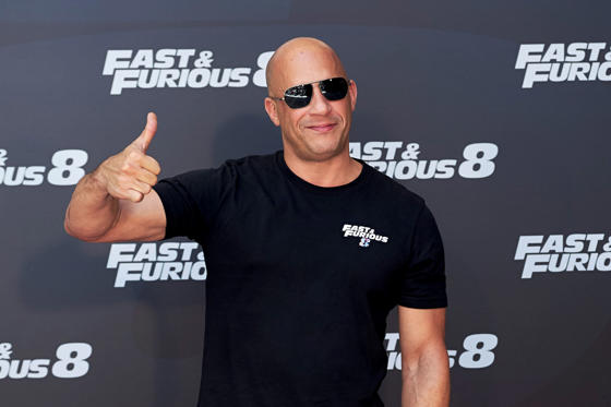 Slide 1 of 12: MADRID, SPAIN - APRIL 06: Actor Vin Diesel attends the 'Fast & Furious 8' photocall at the Villamagna Hotel on April 6, 2017 in Madrid, Spain. (Photo by Carlos Alvarez/Getty Images)