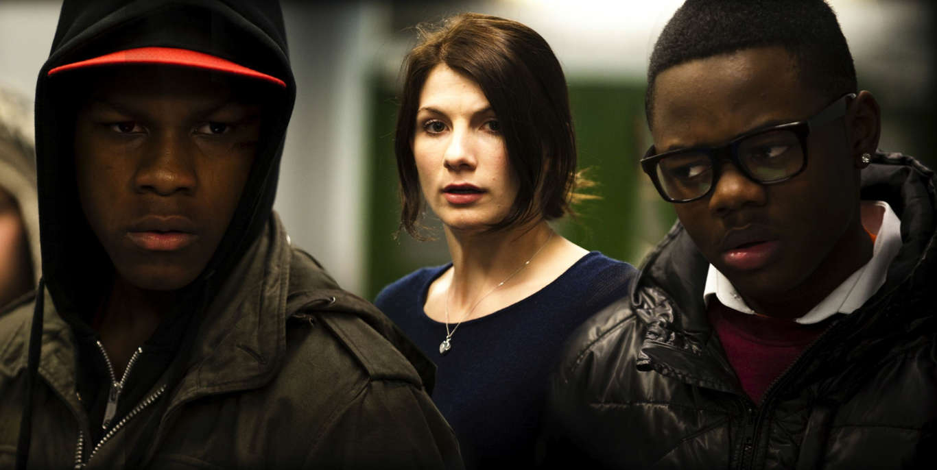 Slide 7 of 11: Attack The Block - 2011; John Boyega, Jodie Whittaker