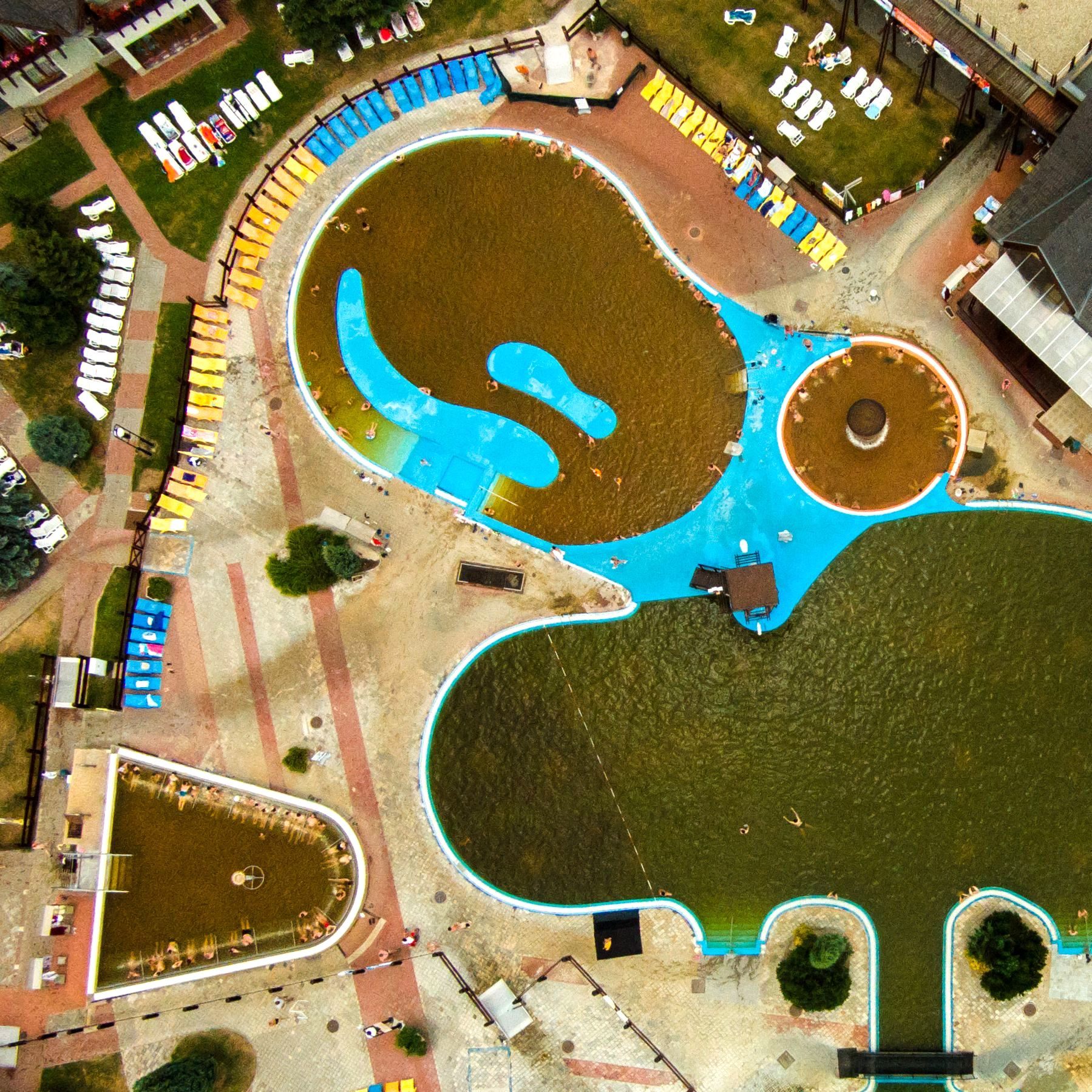 Slide 87 of 100: Photographer Karolis Janulis' aerial photographs, Lithuania, Croatia, Slovakia - Jun 2015