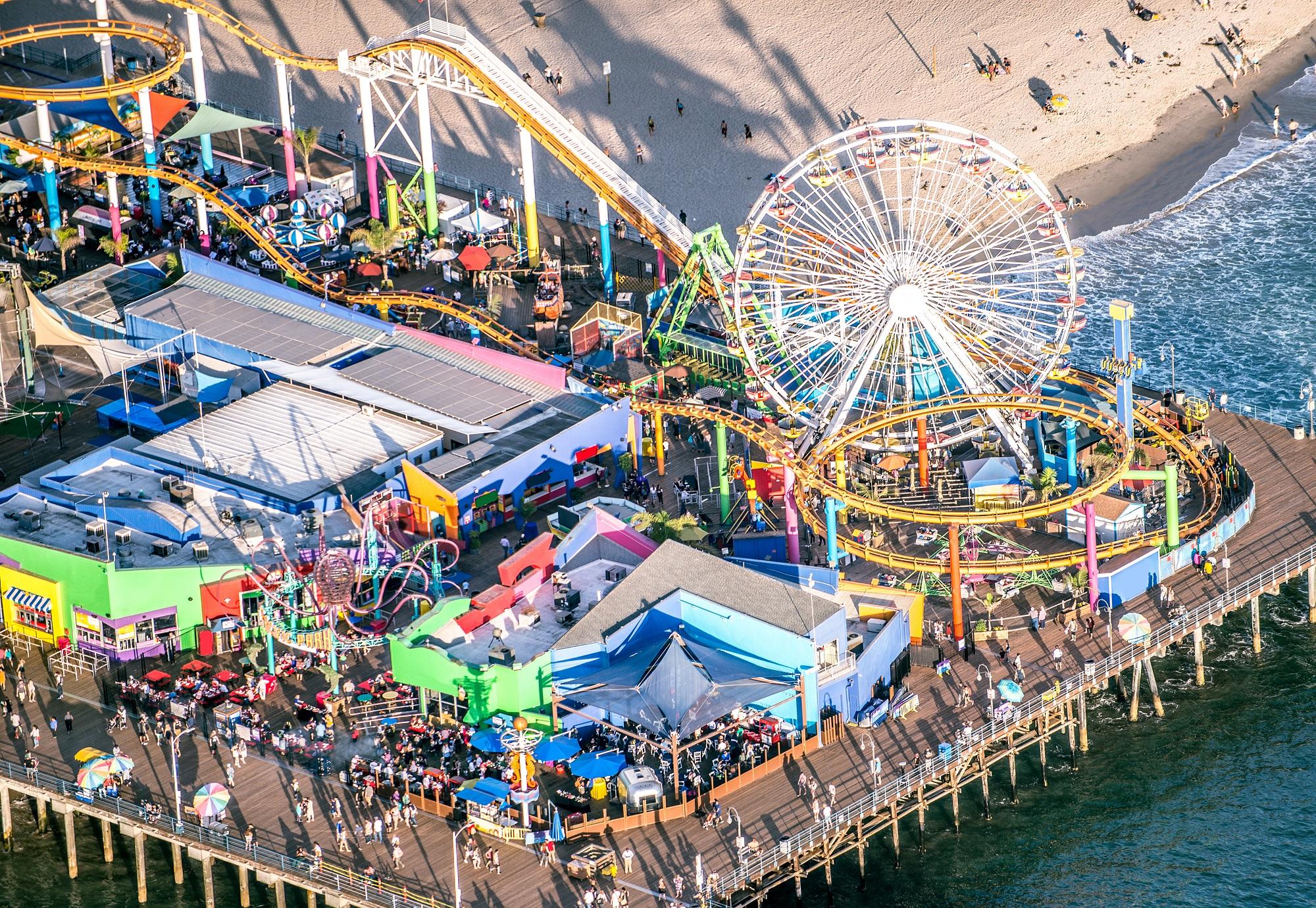 Slide 94 of 100: Santa Monica pier