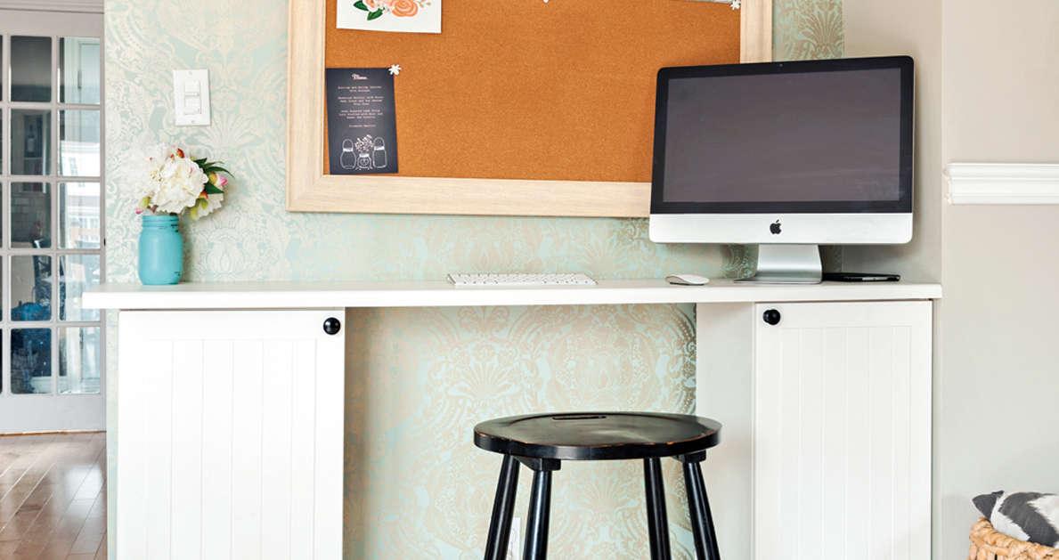 20 id es pour transformer les armoires de m lamine. Black Bedroom Furniture Sets. Home Design Ideas