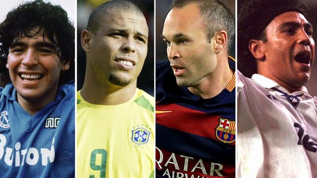 Diapositiva 1 de 101  Los mejores 100 futbolistas de la historia bfef73ff1f1d8