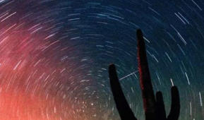 Shooting stars abound during the Leonid meteor shower