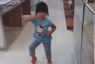 Toddler's adorable dance moves
