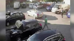 Man narrowly avoids being hit by drink driver in pub car park