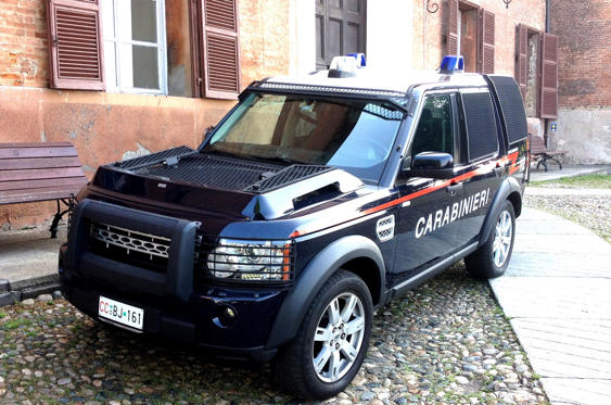 Slide 38 of 78: <p>The Italian Carabinieri's fleet contains numerous types of SUVs. Officers use Land Rover's Defender and Discovery models in the Alps, especially during the winter months, but it's not rare to spot them in urban areas. They're also popular on the islands of Sardinia and Sicily, where the pavement often crumbles into a trail with little prior notice.</p>