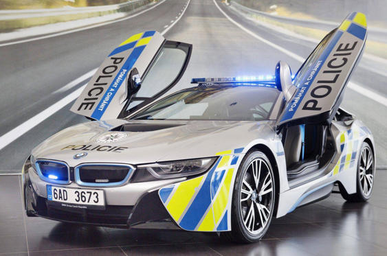 "Slide 25 of 78: <p>When BMW lent a brand spanking new i8 to police in the Czech Republic the force had six months or 20,000km to work out whether or not it was for them. But just a month into the loan the car was crashed when its driver suffered ""a medical emergency"" at the wheel.</p>"