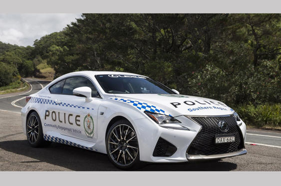 Slide 10 of 78: <p>This 467bhp V8-powered Lexus continues a theme used by police forces around the world: deck out a seriously fast and costly car in police livery to act as a way of improving road safety. In this case it was the southern region of the New South Wales force.</p><p><strong>And now on to the police vehicles we're that have seen active service, ranked in order of general coolness and nobility…, working our way up to our choice of the world's most interesting police car.</strong></p>