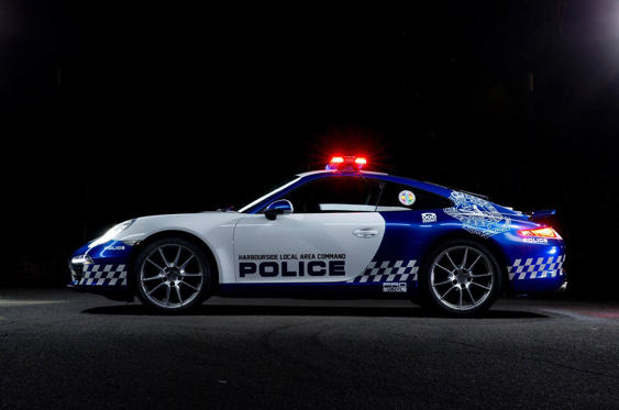 Slide 5 of 78: <p>...as Porsche has also loaned a 911 to the same force for promotional use. Which seems rather a waste as watching this screaming along at 150mph would be quite a sight.</p>