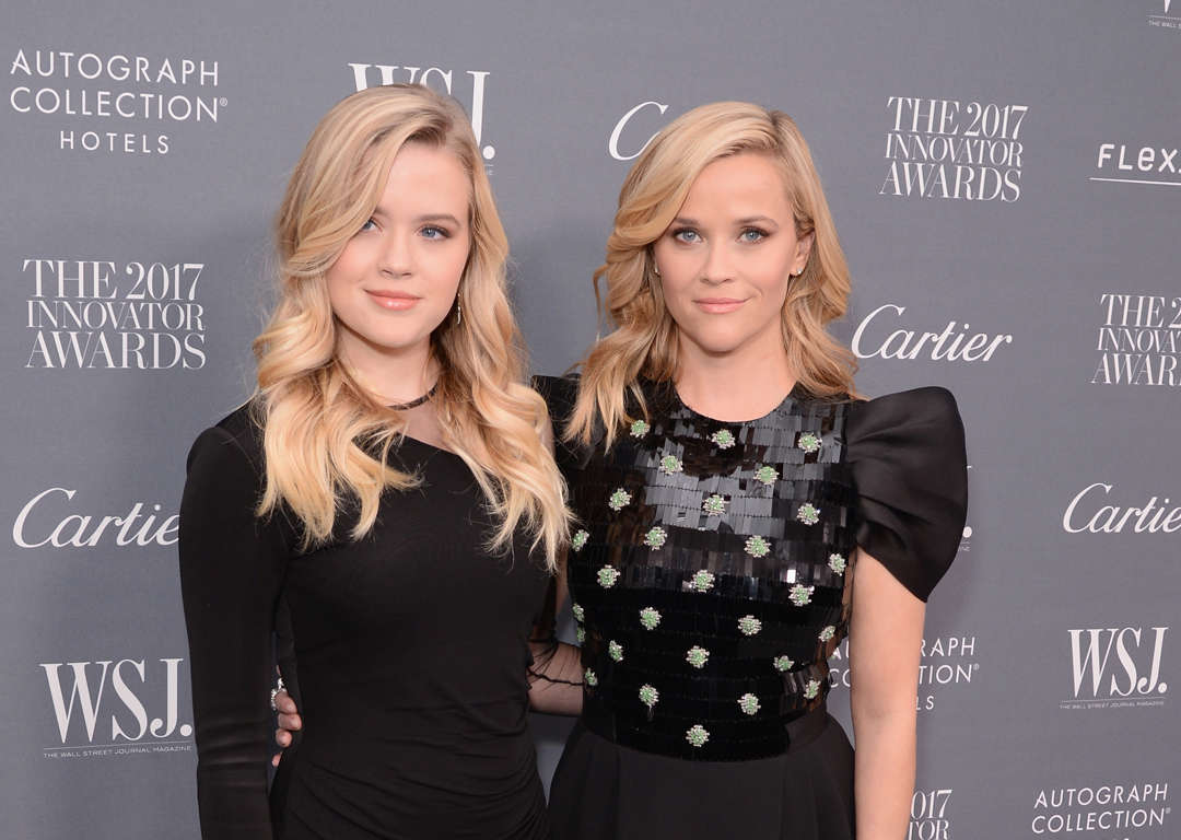 Parecido entre Reese Witherspoon y Ava Philippe
