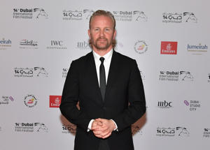 DUBAI, UNITED ARAB EMIRATES - DECEMBER 09: Director Morgan Spurlock attends the 'Super Size Me 2: Holy Chicken' red carpet on day four of the 14th annual Dubai International Film Festival held at the Madinat Jumeriah Complex on December 9, 2017 in Dubai, United Arab Emirates. (Photo by Neilson Barnard/Getty Images for DIFF)