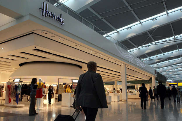 acab81ea Lysbilde 4 av 20: General view of the Harrods store inside Heathrow's  Terminal 5.