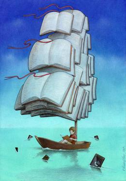 Diapositive 6 sur 25: Paweł Kuczyński, «Voyage avec les requins»