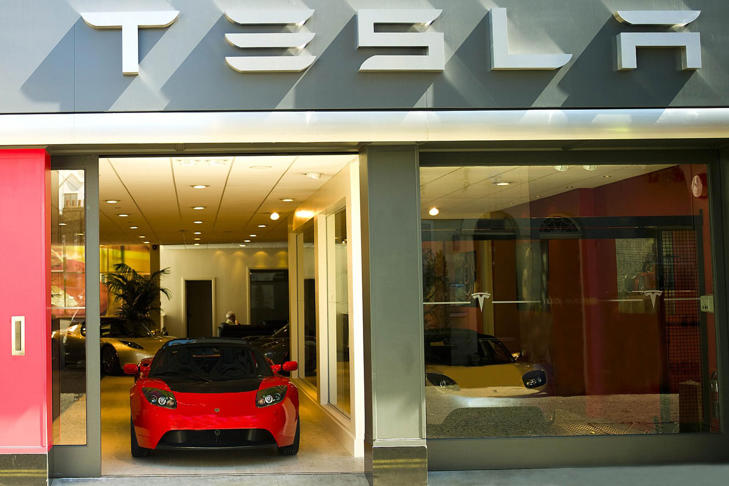 Tesla opens flagship European
