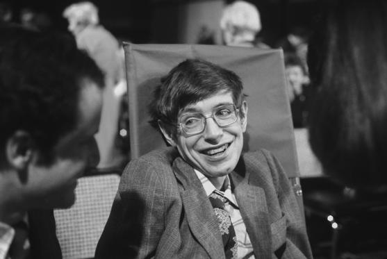 Slide 2 de 24: PRINCETON, NJ - OCTOBER 10: Cosmologist Stephen Hawking on October 10, 1979 in Princeton, New Jersey. (Photo by Santi Visalli/Getty Images)