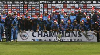 India end home season with SL whitewash