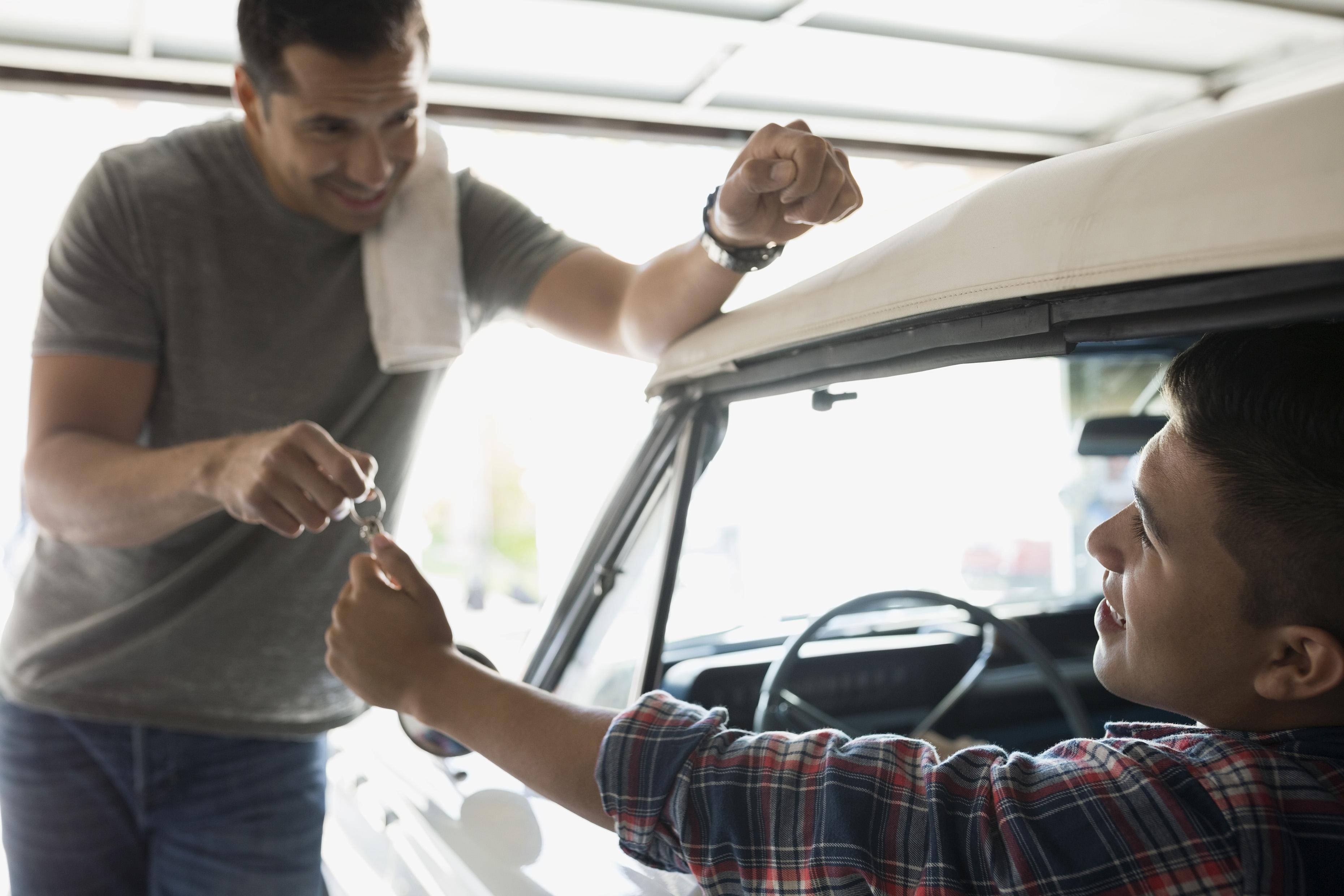 insurance divorced nationwide teen parents driver