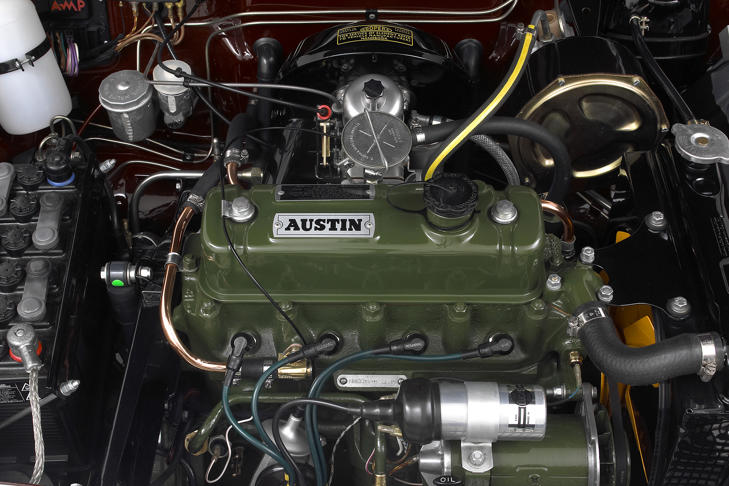 1965 Austin 1800 engine in immaculate condition, 2000.