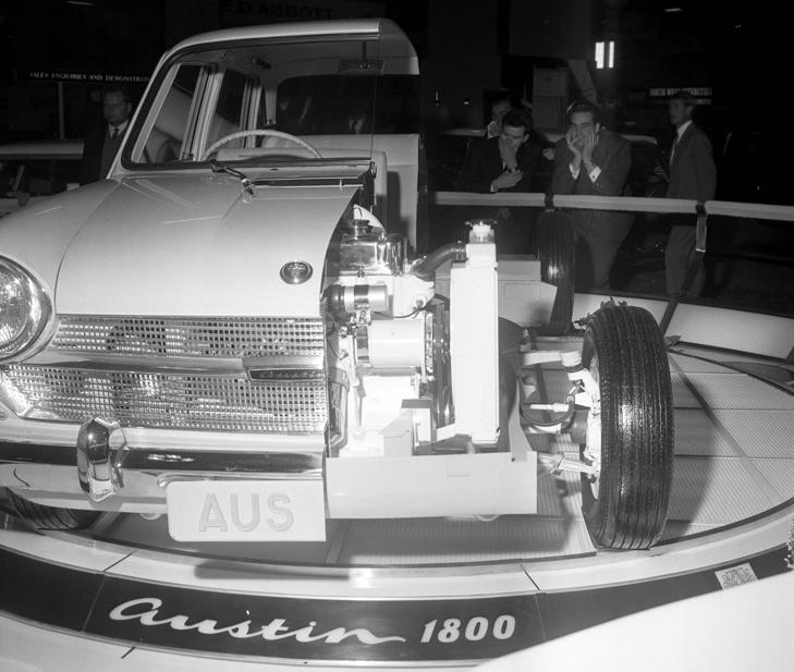 Austin 1800 at the 1964 Motor Show at Earls Court, London